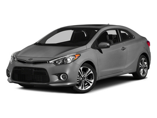 Graphite Steel 2014 Kia Forte Koup Pictures Forte Koup Coupe 2D EX I4 photos front view
