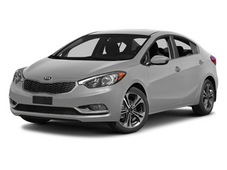 Bright Silver 2014 Kia Forte Pictures Forte Sedan 4D LX I4 photos front view