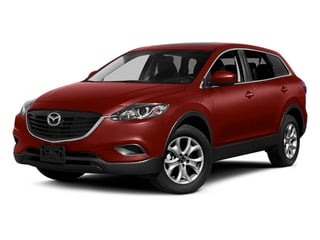 Zeal Red Mica 2014 Mazda CX-9 Pictures CX-9 Utility 4D Touring 2WD V6 photos front view
