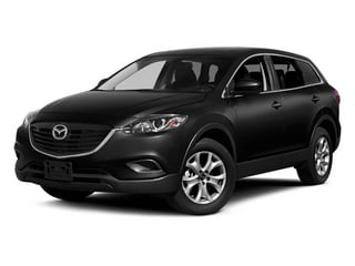Jet Black Mica 2014 Mazda CX-9 Pictures CX-9 Utility 4D GT 2WD V6 photos front view