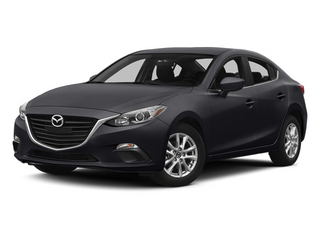 Meteor Gray Mica 2014 Mazda Mazda3 Pictures Mazda3 Sedan 4D s Touring I4 photos front view