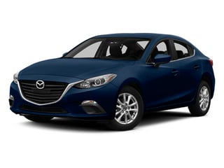 Deep Crystal Blue Mica 2014 Mazda Mazda3 Pictures Mazda3 Sedan 4D s Touring I4 photos front view