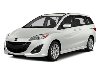 Crystal White Pearl 2014 Mazda Mazda5 Pictures Mazda5 Wagon 5D Touring I4 photos front view