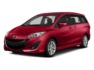 Zeal Red Mica 2014 Mazda Mazda5 Pictures Mazda5 Wagon 5D Touring I4 photos front view