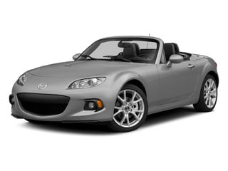 Liquid Silver Metallic 2014 Mazda MX-5 Miata Pictures MX-5 Miata Convertible 2D Club I4 photos front view