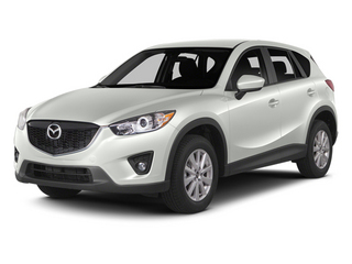 Crystal White Pearl Mica 2014 Mazda CX-5 Pictures CX-5 Utility 4D GT 2WD I4 photos front view