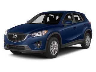 Deep Crystal Blue Mica 2014 Mazda CX-5 Pictures CX-5 Utility 4D GT 2WD I4 photos front view