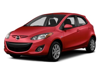Zeal Red 2014 Mazda Mazda2 Pictures Mazda2 Hatchback 5D Sport I4 photos front view