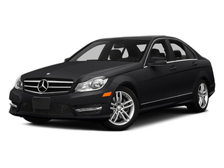 Black 2014 Mercedes-Benz C-Class Pictures C-Class Sedan 4D C300 AWD photos front view