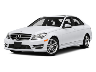 Polar White 2014 Mercedes-Benz C-Class Pictures C-Class Sedan 4D C300 AWD photos front view