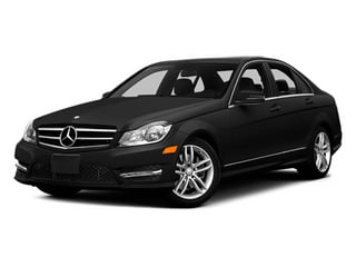 Obsidian Black Metallic 2014 Mercedes-Benz C-Class Pictures C-Class Sedan 4D C300 AWD photos front view