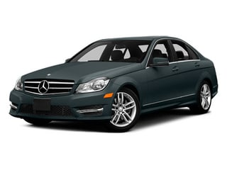 Steel Gray Metallic 2014 Mercedes-Benz C-Class Pictures C-Class Sedan 4D C300 AWD photos front view