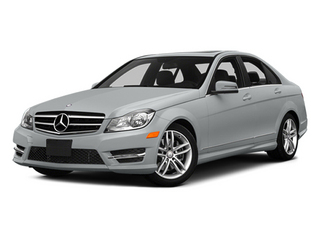 Iridium Silver Metallic 2014 Mercedes-Benz C-Class Pictures C-Class Sedan 4D C300 AWD photos front view