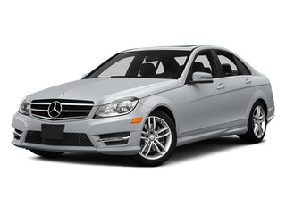 Diamond Silver Metallic 2014 Mercedes-Benz C-Class Pictures C-Class Sedan 4D C300 AWD photos front view