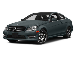 Steel Gray Metallic 2014 Mercedes-Benz C-Class Pictures C-Class Coupe 2D C350 V6 photos front view