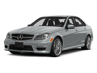 Iridium Silver Metallic 2014 Mercedes-Benz C-Class Pictures C-Class Sport Sedan 4D C63 AMG photos front view