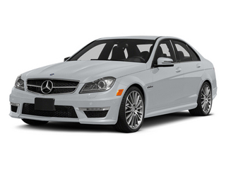 Diamond Silver Metallic 2014 Mercedes-Benz C-Class Pictures C-Class Sport Sedan 4D C63 AMG photos front view