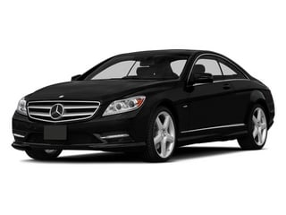 Obsidian Black Metallic 2014 Mercedes-Benz CL-Class Pictures CL-Class Coupe 2D CL550 AWD V8 Turbo photos front view