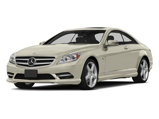 Diamond White Metallic 2014 Mercedes-Benz CL-Class Pictures CL-Class Coupe 2D CL550 AWD V8 Turbo photos front view