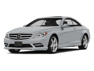 Diamond Silver Metallic 2014 Mercedes-Benz CL-Class Pictures CL-Class Coupe 2D CL550 AWD V8 Turbo photos front view