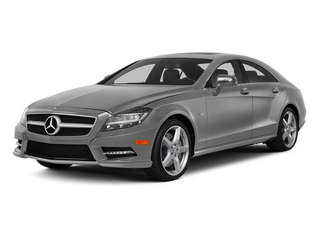 designo Magno Alanite Gray (Matte Finish) 2014 Mercedes-Benz CLS-Class Pictures CLS-Class Sedan 4D CLS550 photos front view