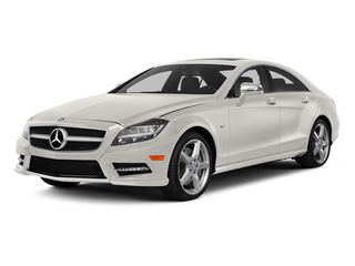 designo Magno Cashmere White (Matte Finish) 2014 Mercedes-Benz CLS-Class Pictures CLS-Class Sedan 4D CLS550 photos front view