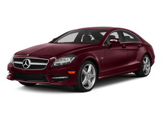 Storm Red Metallic 2014 Mercedes-Benz CLS-Class Pictures CLS-Class Sedan 4D CLS550 photos front view