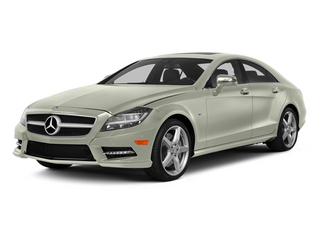 Iridium Silver Metallic 2014 Mercedes-Benz CLS-Class Pictures CLS-Class Sedan 4D CLS550 photos front view