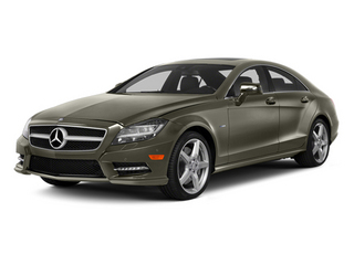 Indium Gray Metallic 2014 Mercedes-Benz CLS-Class Pictures CLS-Class Sedan 4D CLS550 photos front view
