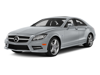 Diamond Silver Metallic 2014 Mercedes-Benz CLS-Class Pictures CLS-Class Sedan 4D CLS550 AWD photos front view