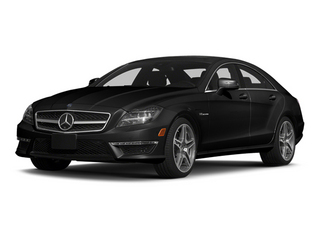 Obsidian Black Metallic 2014 Mercedes-Benz CLS-Class Pictures CLS-Class Sedan 4D CLS63 AMG S AWD photos front view