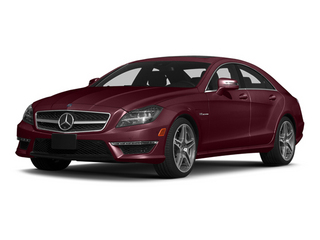 Storm Red Metallic 2014 Mercedes-Benz CLS-Class Pictures CLS-Class Sedan 4D CLS63 AMG AWD photos front view