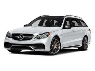 Polar White 2014 Mercedes-Benz E-Class Pictures E-Class Wagon 4D E63 AMG S AWD V8 Turbo photos front view