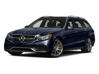 Lunar Blue Metallic 2014 Mercedes-Benz E-Class Pictures E-Class Wagon 4D E63 AMG S AWD V8 Turbo photos front view