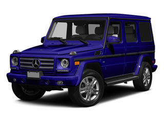 designo Mystic Blue 2014 Mercedes-Benz G-Class Pictures G-Class 4 Door Utility 4Matic photos front view