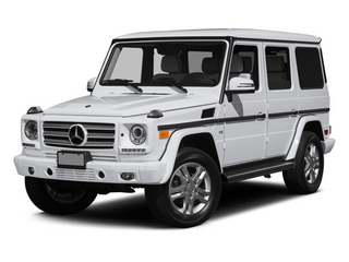 Polar White 2014 Mercedes-Benz G-Class Pictures G-Class 4 Door Utility 4Matic photos front view