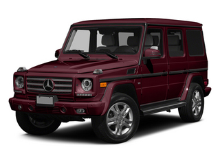 Storm Red Metallic 2014 Mercedes-Benz G-Class Pictures G-Class 4 Door Utility 4Matic photos front view