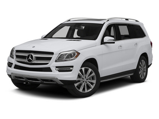 Polar White 2014 Mercedes-Benz GL-Class Pictures GL-Class Utility 4D GL450 4WD V8 photos front view