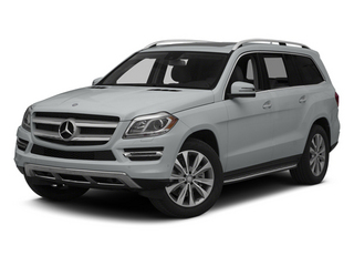 Iridium Silver Metallic 2014 Mercedes-Benz GL-Class Pictures GL-Class Utility 4D GL450 4WD V8 photos front view
