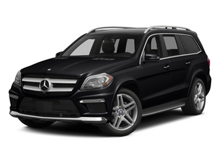 Black 2014 Mercedes-Benz GL-Class Pictures GL-Class Utility 4D GL550 4WD V8 photos front view