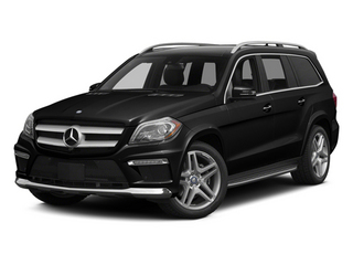 Obsidian Black Metallic 2014 Mercedes-Benz GL-Class Pictures GL-Class Utility 4D GL550 4WD V8 photos front view