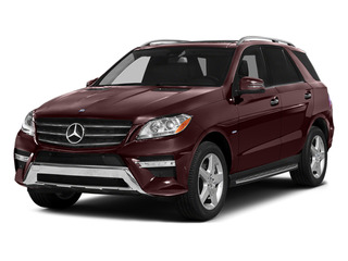 Cinnabar Red Metallic 2014 Mercedes-Benz M-Class Pictures M-Class Utility 4D ML550 AWD V8 Turbo photos front view
