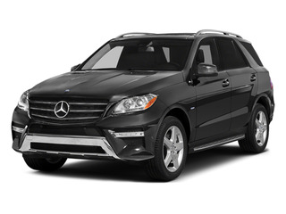 Steel Gray Metallic 2014 Mercedes-Benz M-Class Pictures M-Class Utility 4D ML550 AWD V8 Turbo photos front view