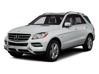 Iridium Silver Metallic 2014 Mercedes-Benz M-Class Pictures M-Class Utility 4D ML350 2WD V6 photos front view