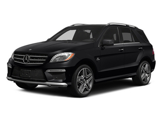 Black 2014 Mercedes-Benz M-Class Pictures M-Class Utility 4D ML63 AMG AWD photos front view