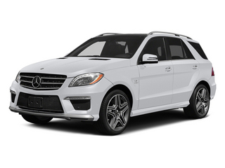 Polar White 2014 Mercedes-Benz M-Class Pictures M-Class Utility 4D ML63 AMG AWD photos front view