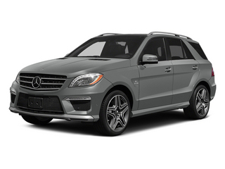 Palladium Silver Metallic 2014 Mercedes-Benz M-Class Pictures M-Class Utility 4D ML63 AMG AWD photos front view