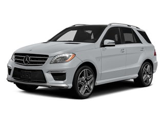 Diamond Silver Metallic 2014 Mercedes-Benz M-Class Pictures M-Class Utility 4D ML63 AMG AWD photos front view