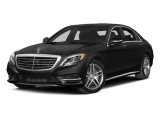 Obsidian Black Metallic 2014 Mercedes-Benz S-Class Pictures S-Class Sedan 4D S550 AWD photos front view