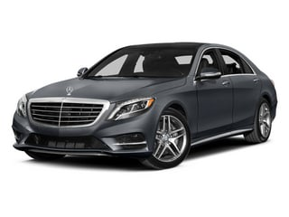 Anthracite Blue Metallic 2014 Mercedes-Benz S-Class Pictures S-Class Sedan 4D S550 AWD photos front view